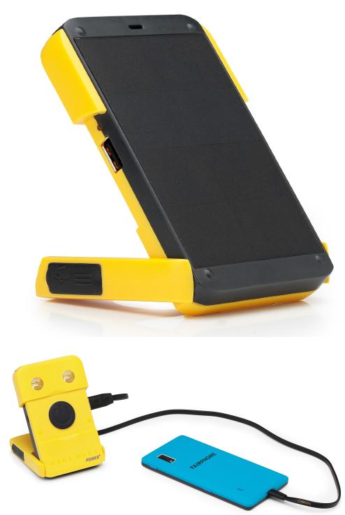 Mobiles Solar-Ladegerät Waka Waka gesponsert von Greenpeace Energy