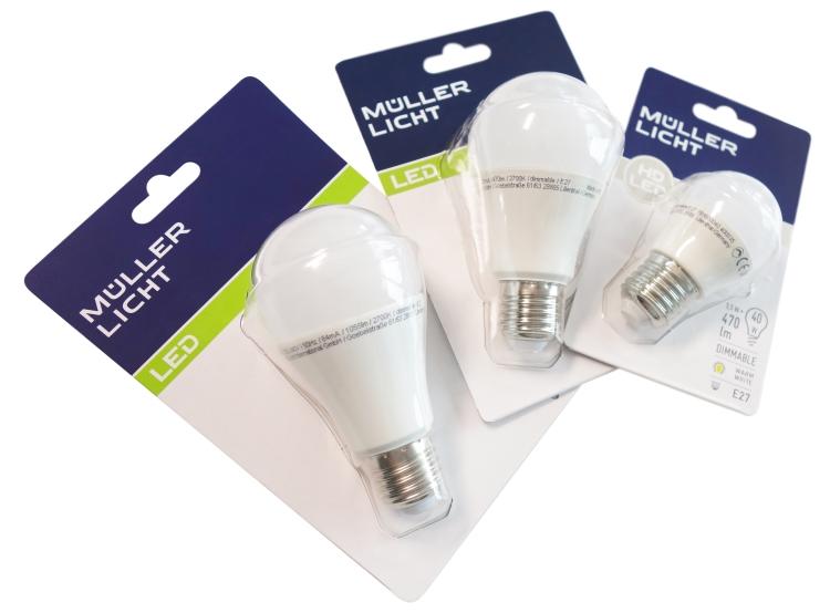 LED-Lampen-Set von Müller Licht