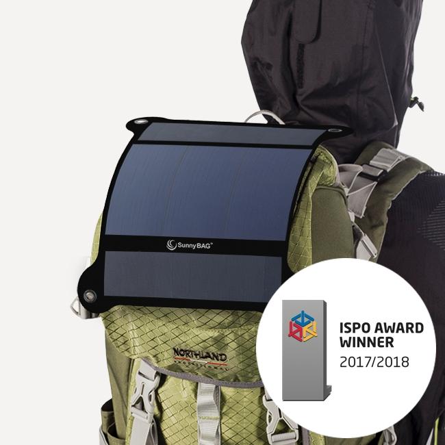 Sunnybag Outdoor Solarpanel LEAF gesponsert von ProEngeno GmbH