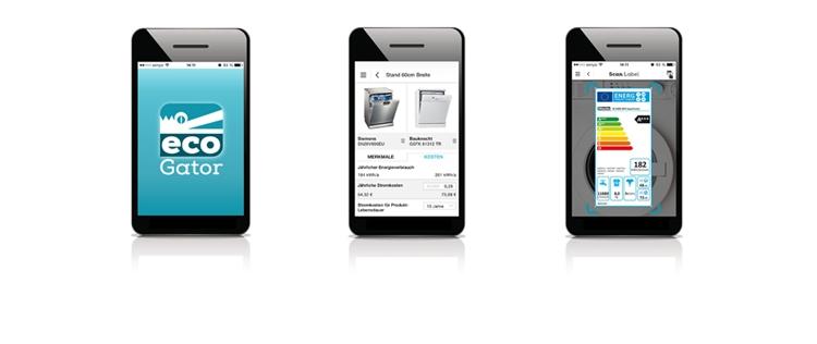 Ecogator - Sparsame Geräte per App finden